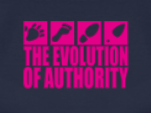 The Evolution of Authority (woman's Tshirt)