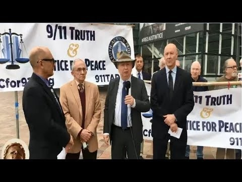 Lawyers & AE911 Truth Sue the FBI: Press Conference (FULL VERSION)