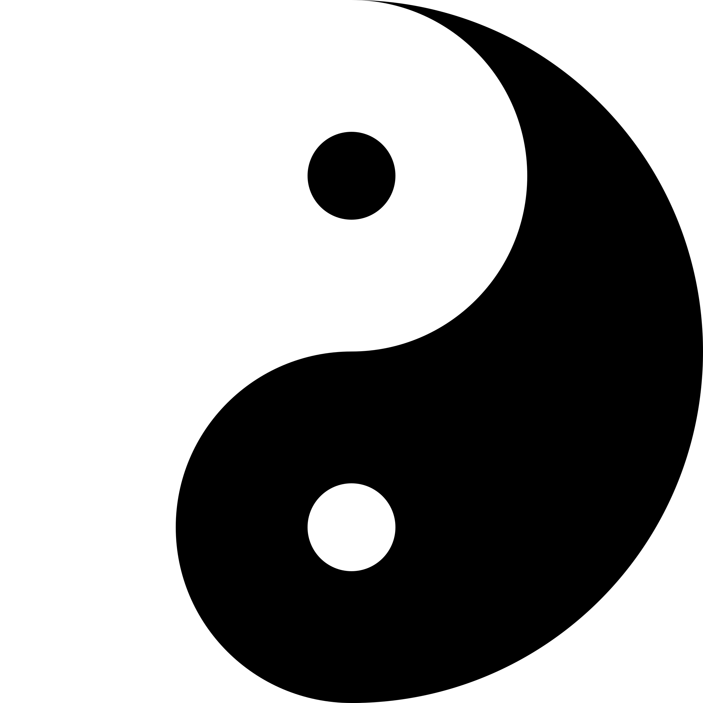 Yin Yang or Taiji Symbol, From InText