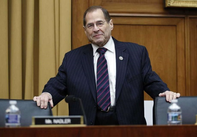 Mr Nadler is the Chairman of the House Judiciary Committee