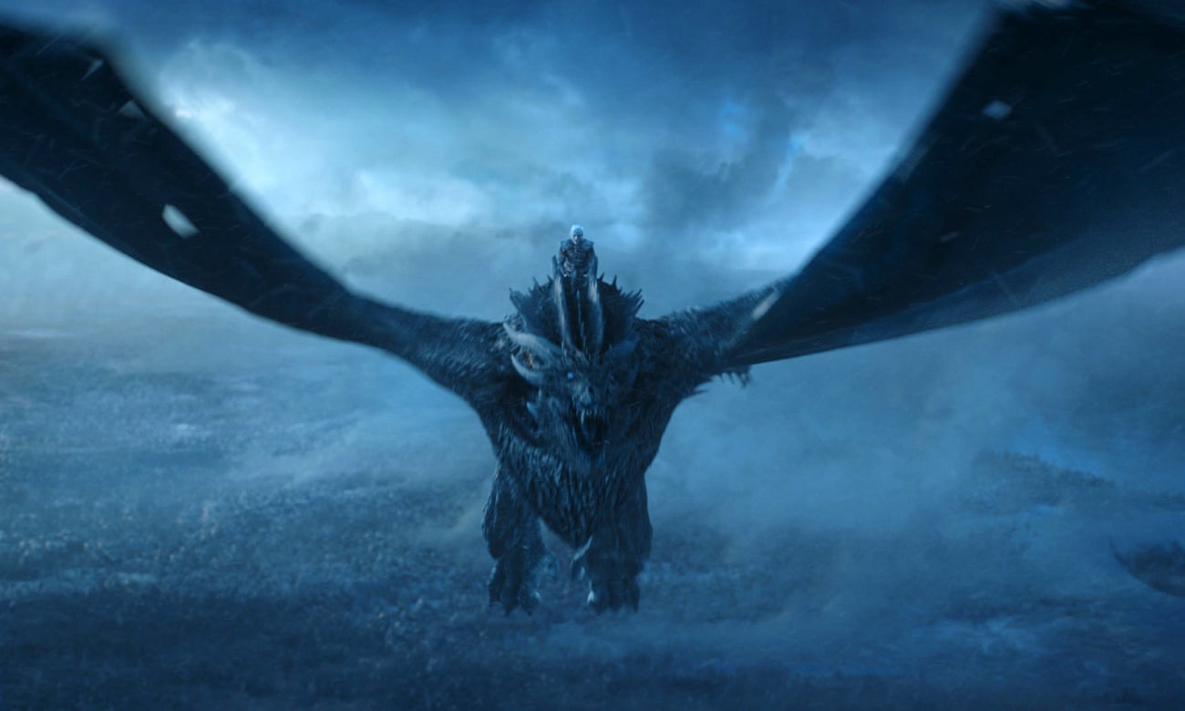 The dragons to save the world? ... Game of Thrones.