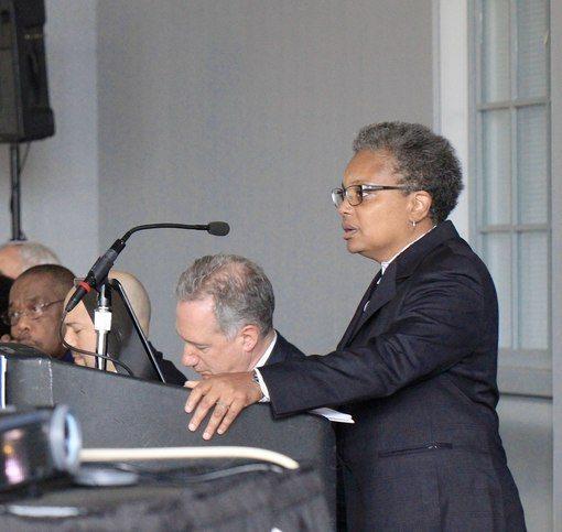 New Chicago Mayor Lori Lightfoot