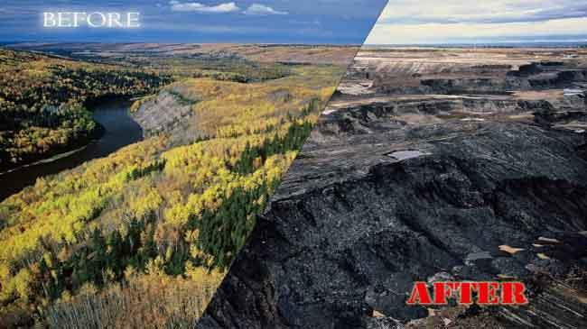 Alberta tarsands