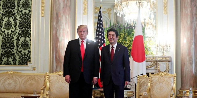 Abe and Trump share their own views of history which of course deny simple reality