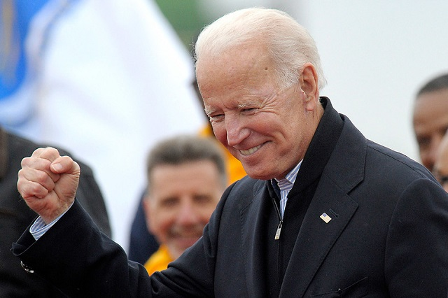 Biden is 76 but his age is in fact an asset for the former vice president amid a field of younger candidates who lack the