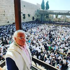 US ambassador and Jewish priest David Friedman giving Passover blessing., From InText