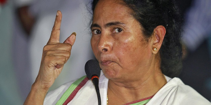 Mamata Banerjee is stern beyond words