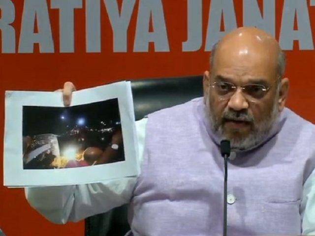 Shah flashes the evidence
