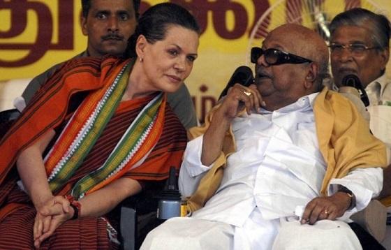 Sonia Gandhi: Leaning to wean away DMK