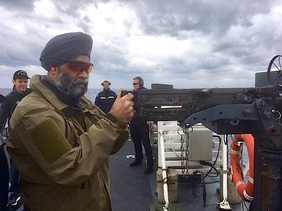 Minister of Defence Harjit Sajjan