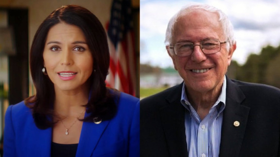 Tulsi and Bernie; Two GND champions BoB 2.0 loves