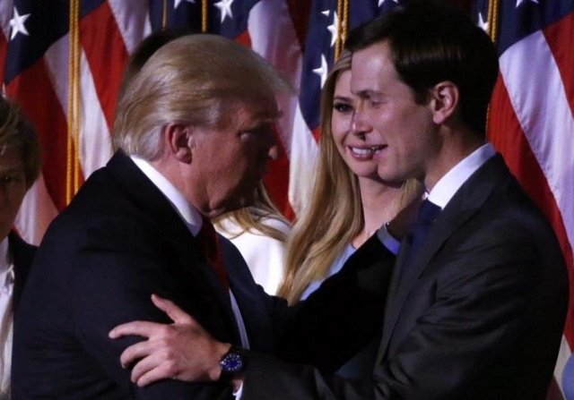 Trump's son-in-law Jared Kushner has been tasked with winning over Arab states particularly those in the oil-rich Gulf to stump up money for pacifying Palestinians and their neighbours