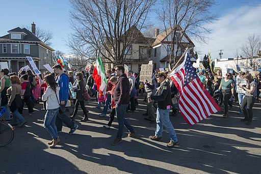 SOLIDARITY MARCH IN SUPPORT OF IMMIGRANTS AT THE BORDER