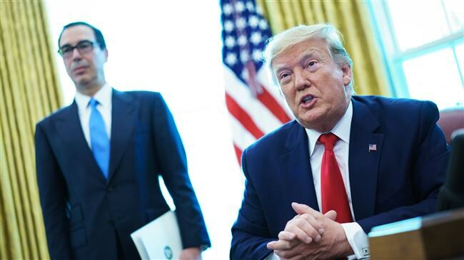 PressTV-Trump imposes new harsh sanctions on Iran Trump has announced new sanctions against Iran targeting Leader of the Islamic Revolution Ayatollah Ali Khamenei and senior IRGC commanders.