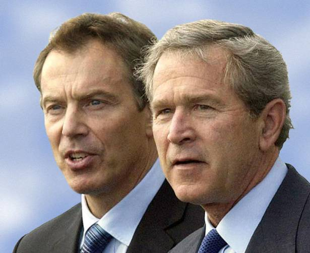 The two George W Bush/Tony Blair  accused took the law into their own hands They acted with deceit and with falsehood They acted in flagrant violation of international law of war and peace, From InText