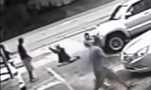Surveillance video of Michael Drejka's shooting of Markeis McGlockton, From InText