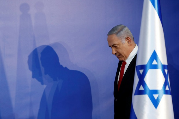 Netanyahu will continue as caretaker prime minister for several more weeks until a new government is formed