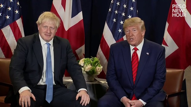 Donald Trump and his British doppelganger Boris Johnson are both examples of how statesmanship has reached the very bottom when compared to any time in the past even going back as far as 1864