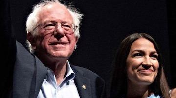 Ocasio-Cortez has gone even further than Sanders in condemning the struggle for self-determination and socialism, From InText