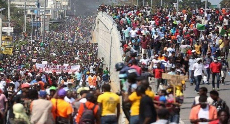 Haitian revolt targets Canada