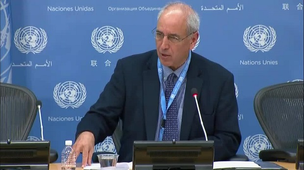 Michael Lynk a Canadian law professor told the UN's human rights council that only urgent international action could prevent Israel's 52-year occupation of the West Bank transforming into de facto annexation
