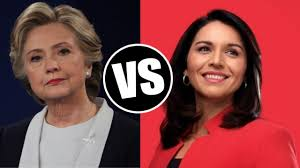 Hillary vs Tulsi, From InText