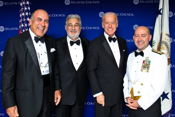 Biden at the 2011 Atlantic Council distinguished leadership awards ceremony