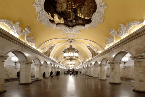 Subway in Moscow