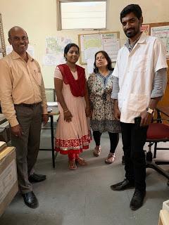 (L to R) G Swamy Reddy, Pallavi, Shobha Shukla of CNS, and Raj Shekhar, From InText