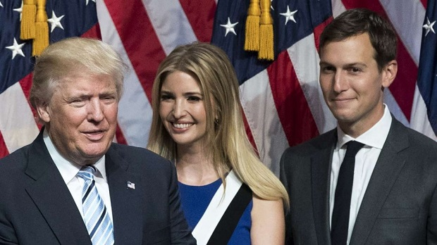 Nepotism has been adopted as official Trump administration policy with regard to Trump's son-in-law Jared Kushner and his wife and Trump's daughter Ivanka Trump holding senior White House positions
