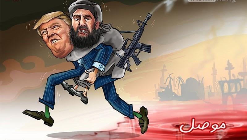 Trump carrying al-Baghdadi