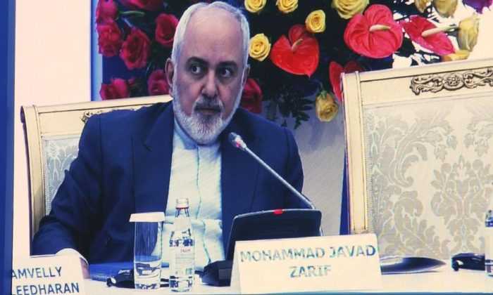 Iranian Foreign Minister Mohammad Javad Zarif, at the annual Astana Club meeting in Nur-Sultan, Kazakhstan, earlier this month.