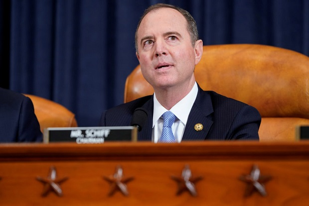 Release of Impeachment Inquiry Report Chairman Rep Adam Schiff (D-CA) House Intelligence Committee