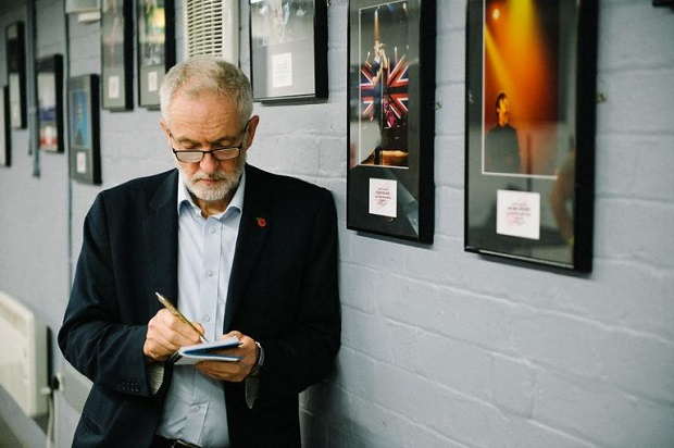 The security services that have been trying to portray Corbyn as a Russian spy would move from insinuation into more explicit action