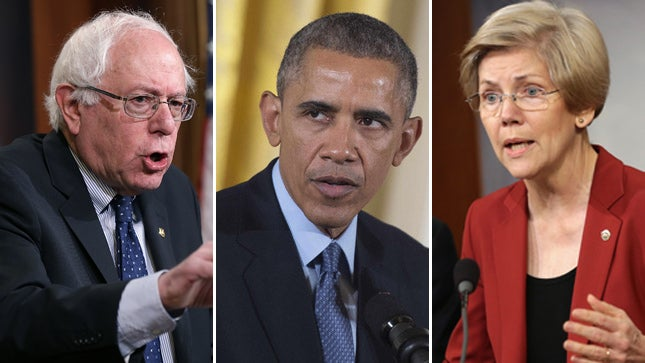 Sanders/Obama/Warren