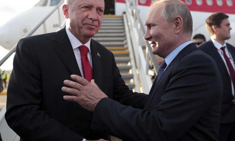 Putin and Erdogan, From InText