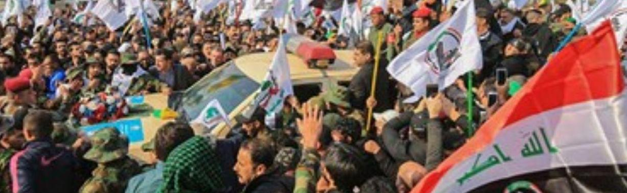 Anti-U.S. protests in Iraq, January 2020., From InText