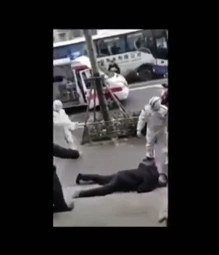 Videos coming out of Wuhan, China bodies on the street and hospitals jam packed the Coronavirus epidemic is spreading