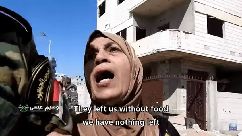 #GhoutaReality  Terrorists stole/hoarded food, just like in Homs, east Aleppo, Madaya, al-Waer... to name but a few.  https://www.youtube.com/watch?v=MUOy04xrtoU&feature=youtu.be... See More