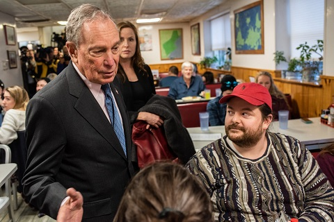 The Democratic National Committee is ready to boost Bloomberg into the top tier