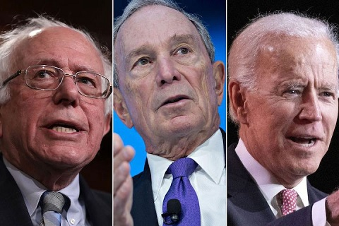 Of our three old white guys we have a candidate who refuses to be bound to the DNC's rules