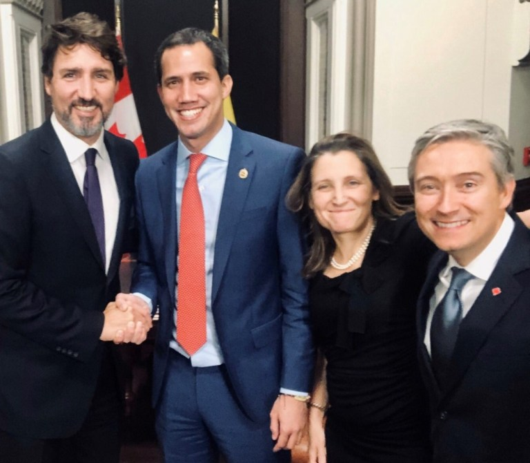 Trudeau's extraordinary campaign to overthrow Maduro, From InText