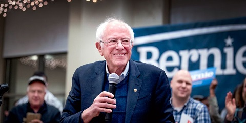 And Bernie what are you doing right? Keep talking revolution