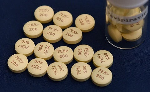 The drug favipiravir has produced encouraging results in clinical trials