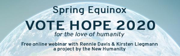 Vote Hope 2020, From InText