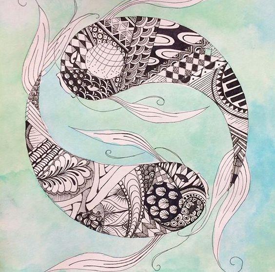 Koi Fish Yin/Yang