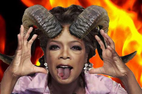 Oprah is evil!