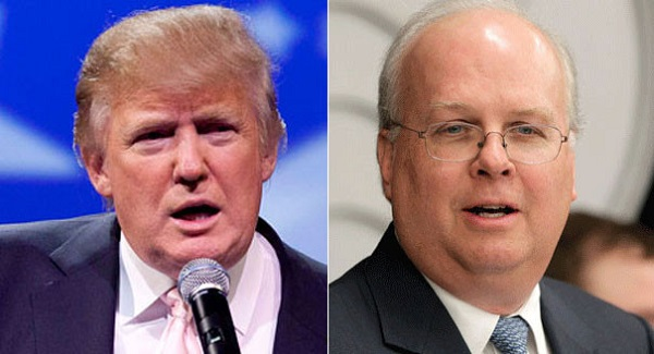 Rove attended a White House meeting last week with Trump and key Trump advisers, From InText