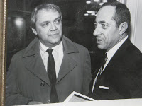 Me with Mario Cuomo in Albany. Circa mid-1980s.