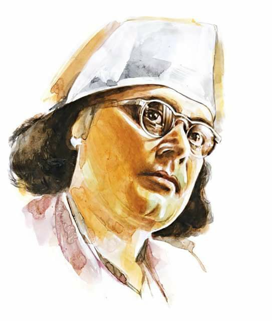 Portrait of Kazi Nazrul Islam (1899-1976), From InText